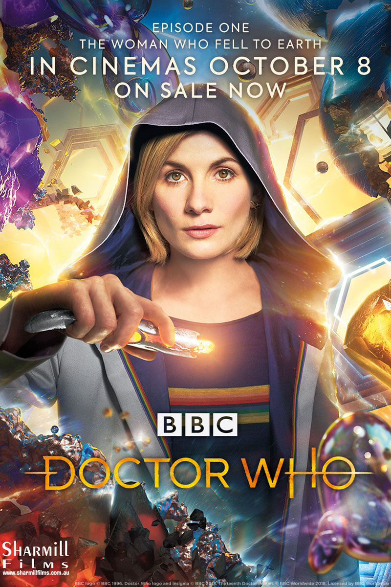 Doctor Who :The Woman Who Fell To Earth